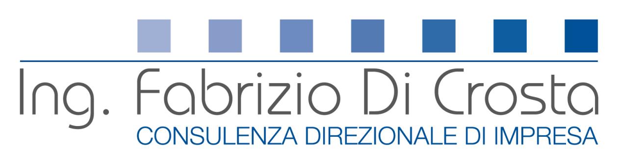 Ing. Fabrizio Di Crosta – Consulenza di Direzione ed Informatica
